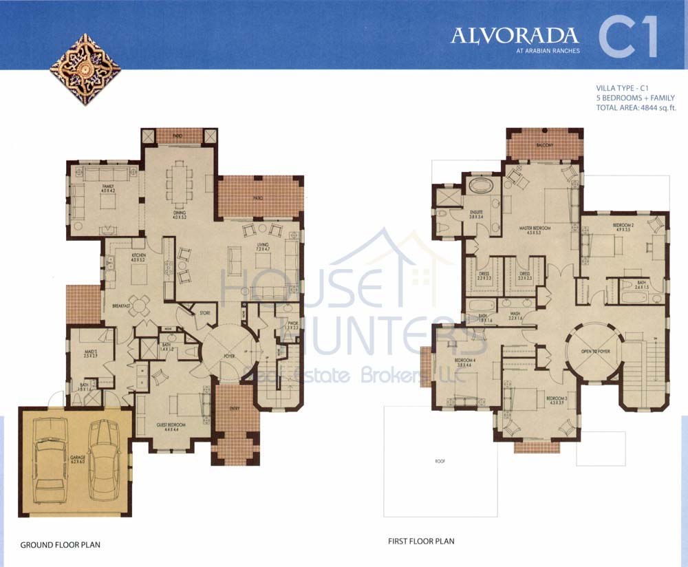 Arabian ranches buyers 39 guide Plans for villas