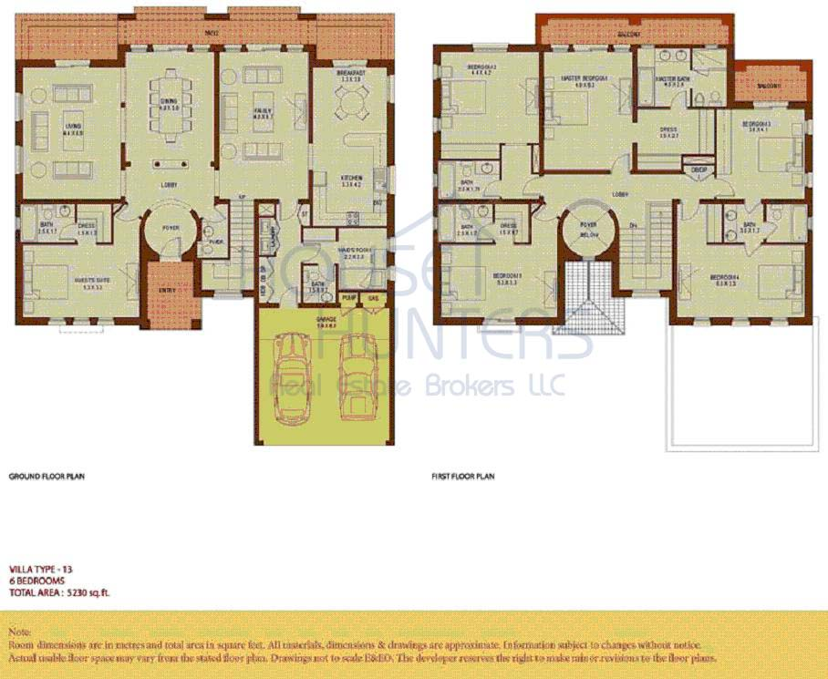 Arabic house plans numberedtype for Arabic home designs